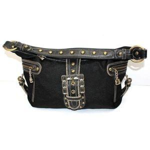Kathy Van Zeeland Women's Black Zip Handbags
